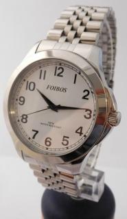 95d80117f32 Čitelné ocelové pánské přehledné voděodolné hodinky Foibos 6983.1 - 5ATM