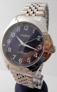 Čitelné ocelové pánské přehledné voděodolné hodinky Foibos 6983.3 - 5ATM d593b19be6