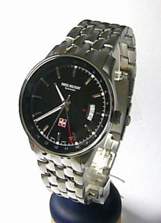 Švýcarské moderní kovové vodotěsné hodinky Swiss Military by Grovana  7013.1237 ee64be41d8