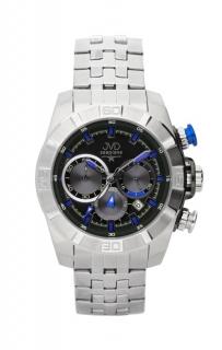 8991472366a Ocelové chronografy hodinky JVD seaplane JS28.1 - 10ATM