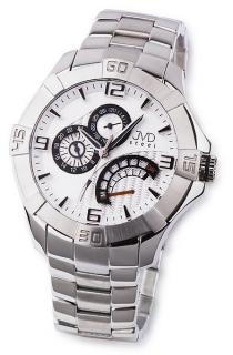 Odolné pánské nerezové náramkové hodinky JVD steel JA620.1 5ATM 6b5113cd6c