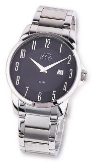 Pánské ocelové moderní stříbrné náramkové hodinky JVD steel W18.1 5ATM 6164b641f0f