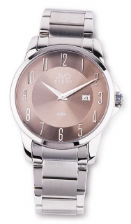 Pánské ocelové moderní stříbrné náramkové hodinky JVD steel W18.3 5ATM 5a33667c51