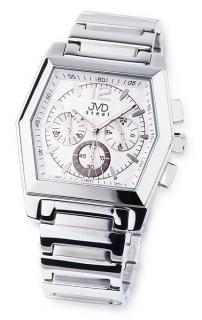Moderní ocelové pánské náramkové hodinky JVD steel C1126.1 b5ab67109c5