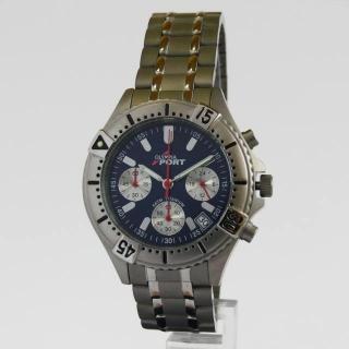 Luxusní pánské titanové hodinky Olympia 10112 s chronografem 5ATM 701989ecb5a