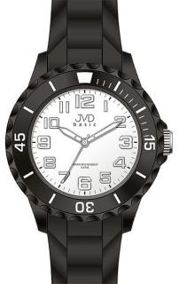 Dětské černé chlapecké silikonové hodinky JVD basic J7133.1 - 5ATM fa4f91f1a9