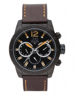 Luxusní vodotěsný pánský chornograf hodinky JVD seaplane W71.1 -  10ATMPOŠTOVNÉ ZDARMA! f2c03b0ffe