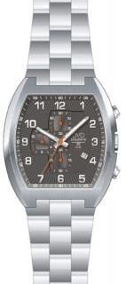 Vodotěsné hranaté ocelové hodinky JVD Seaplane JS20.2 - 10ATM POŠTOVNÉ  ZDARMA! 62ae967c14