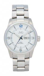 Pánské ocelové vodotěsné hodinky JVD seaplane JC644.1 - 10ATM s datumovkou 556eac7601