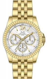 Pánský luxusní mohutný chronograf vodotěsné hodinky JVD J4141.2  10ATMPOŠTOVNÉ ZDARMA! 8af914978f