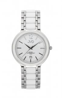 234e58a17f1 Luxusní keramické dámské náramkové hodinky JVD chronograph J1104.1 POŠTOVNÉ  ZDARMA!
