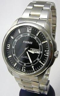 Pánské vodotěsné ocelové kovové hodinky Foibos 6733.1 - 10ATM 63d4ca2a9d