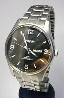 Vodotěsné ocelové pánské hodinky Foibos 6370.2 se safírovým sklem - 10ATM  POŠTOVNÉ ZDARMA! b197e06b01