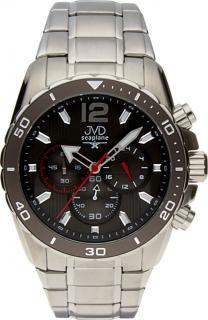 Luxusní vodotěsné sportovní hodinky JVD W90.2 Seaplane s chronografem  POŠTOVNÉ ZDARMA! c43ba9c8572