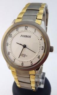 Dámské antialergické titanové hodinky Foibos 2452 BICOLOR 07e8ca20a1