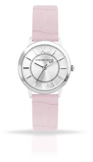 6cc38b9a920 Dámské luxusní designové hodinky SUNDAY ROSE Darling SWEET PINK