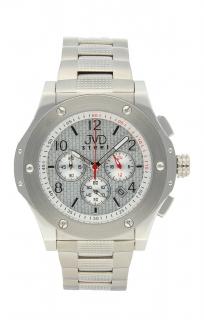 Luxusní pánské chronografy - vodotěsné hodinky Steel JVDC 732.1 c88734eeb2b